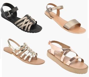 Get upto 60% off on Women's Footwears @ Shoppersstop