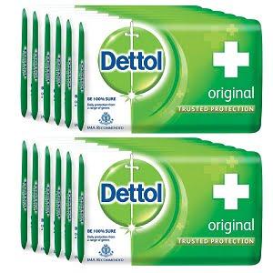 Dettol Original Soap (75 g x12)
