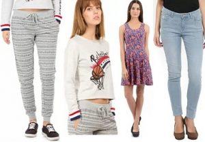 Flying Machine Women's Clothing Min 55% Off From Rs. 178 @ Flipkart