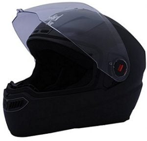 Flat 39% off on Steelbird Air SBA-1 Glossy Full Face Helmet (Black, M) for Rs.1021 – Amazon