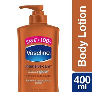 Vaseline Intensive Care Cocoa Glow Body Lotion, 400 ml worth Rs.325 for Rs.195 – Amazon
