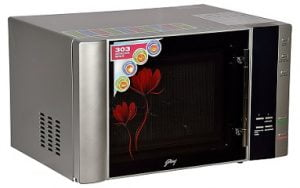 Godrej 30 L Convection Microwave Oven (InstaCook GMX 30 CA1 SIM, Silver) for Rs.9,990 – Amazon (Limited Period Deal)