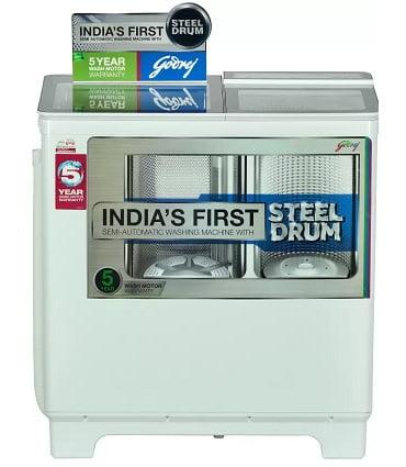 Godrej 8 kg Semi Automatic Top Load Washing Machine White  (WS 800 PDS) for Rs.13,749 – Flipkart