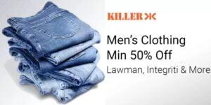 Men Clothing (Killer, Lawman PG3, Integriti & more)