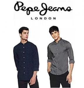 Pepe Jeans Men's Shirt upto 80% off