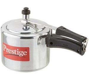 Prestige Nakshatra Plus Induction Base Aluminium Pressure Cooker ,3000 ML for Rs.806 – Pepperfry