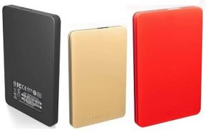 Toshiba Canvio Alumy 2 TB Wired External Hard Disk Drive (EXTRA 10% off on Debit / Credit Card) for Rs. 4,598 – Flipkart