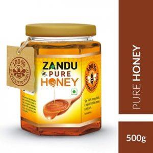 Zandu Pure Honey, 500g worth Rs.270 for Rs.202 – Amazon