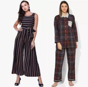 Women's Night Suits & Jump Suits – Minimum 50% off @ Zivame