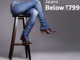 Womens Jeans & Trousers below Rs.799