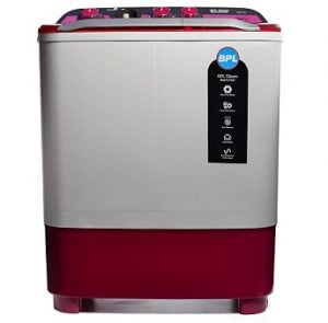 BPL 7.2 kg Semi-Automatic Top Loading Washing Machine (BSATL72X1, Dual Colour) for Rs.7699 – Amazon