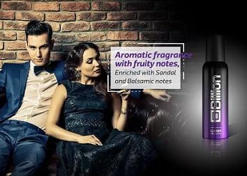 Billion Deodorants – Flat 50% Off (Pack of 2 for Rs.198) Flipkart