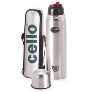 Cello Flip Style 1000 ml Flask for Rs.602 – Flipkart