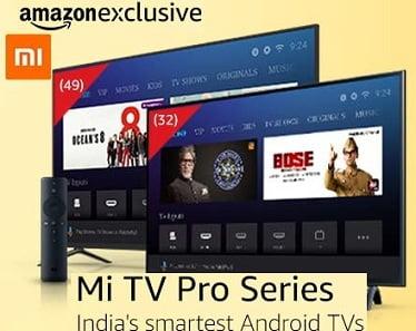 [Live on 9th Oct 09 PM] Mi LED TV 4C PRO 80 cm for Rs. 14,999 – Amazon