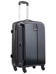 Flat 70% off – Safari Thorium Sharp Antiscratch 77 Cms Polycarbonate Black Check-In 4 wheels Hard Suitcase for Rs.3699 – Amazon