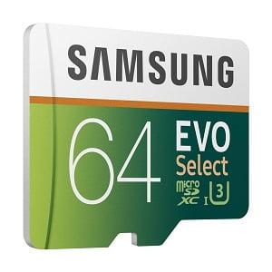 Samsung 64GB 100MB/s EVO Select Micro SDXC Memory Card (MB-ME64GA/EU) for Rs.949 – Amazon