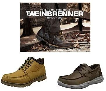 Flat 80% off on Weinbrenner Footwear – Amazon