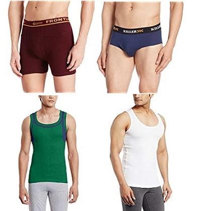 Men's Inner wear Minimum 50% Off from Rs.51 – Amazon