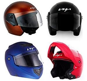 Vega Helmets start from Rs.667- Amazon