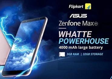 Steal Deal: Asus ZenFone Max M1 (3 GB RAM, 32 GB ROM) for Rs.6,499 – Flipkart