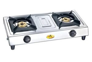 Bajaj Popular Eco 2 Stainless Steel 2-Burners Gas Stove for Rs.1299 – Pepperfry (Limited Period Deal)