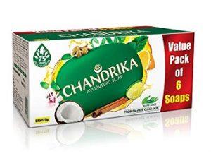 Chandrika Ayurvedic Soap, 125g