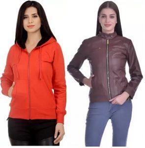Christy Women Winter Jackets 70% off starts from 499 – Flipkart