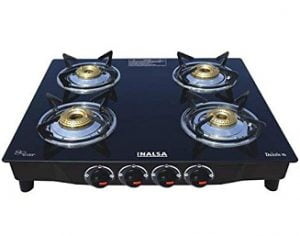 Inalsa Dazzle 4 Burner Cooktop