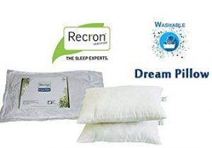 Recron Fiber Dream Pillow - 40 x 61 cm, 2 Piece
