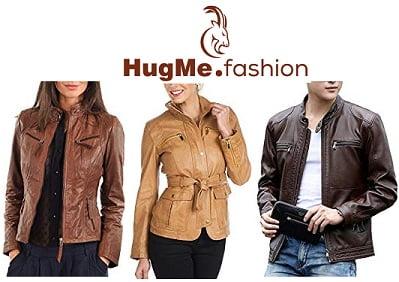 HUGME.Fashion Mens & Womens Genuine Leather Jackets