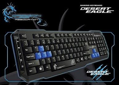 Hot Deal: DragonWar Desert Eagle Gaming Keyboard GK-001 for Rs.489 – Amazon