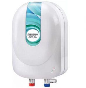 Eveready 3 L Instant Water Geyser  (White, Ozora) for Rs.1999 – Flipkart (2 Yrs Warranty + 5 yrs on Tank)