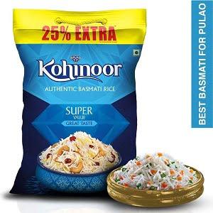 Kohinoor Super Value Basmati Rice (6.25 Kg)