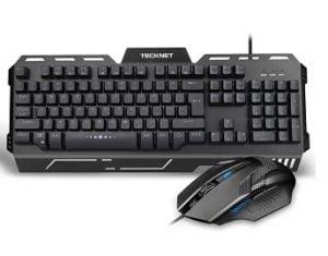 Tecknet X641 Phoenix Illuminated Gaming Keyboard/Mouse-US Combo Set for Rs.799 – Flipkart