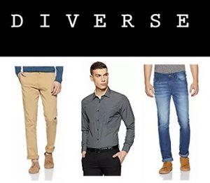 Diverse Men's Clothing – Flat 70% Off – Amazon