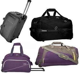 Top Brand Duffel Bags – Minimum 60% – 70% off