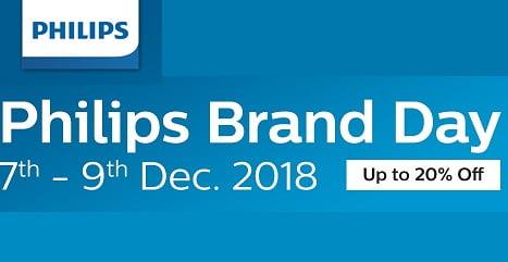 Philips Brand Day:  Upto 25% off on Men's & Women's Grooming Appliances