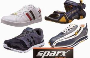 Quality Footwear @ Reasonable Price: Sparx Footwear - Min 40% Off