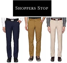 STOP Men Trousers – 72% Off starts Rs.364 @ Amazon