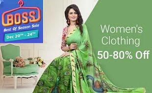 Flipkart Season Sale: Women's Ethnic & Western Clothing – 50% – 80% off