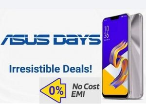 Asus Days: Great Deal on Asus Mobile Phones – Rs. 1500 – Rs. 8000 Extra Discount (Valid till 18th April)
