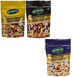 Happilo Premium Dry Fruits 600 (Trail Mix Nut Mix Party Mix)