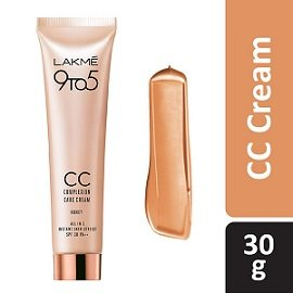 Lakme 9 to 5 Complexion Care CC Cream, Honey, 30g worth Rs.315 for Rs.179 – Amazon