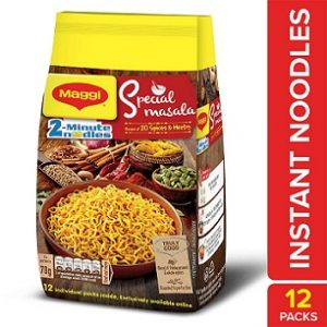 Maggi 2-Minute Special Masala Instant Noodles (70g X12) worth Rs.180 for Rs.153 – Amazon