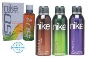 Nike Deodorants & Perfume Min 50% off @ Flipkart