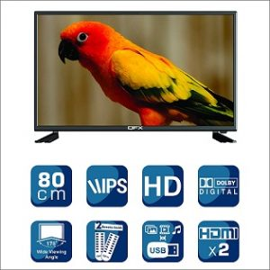 QFX 80 cm (32 Inches) Full HD LED TV QL3160 (model_year 2018) for Rs.8,690 – Amazon