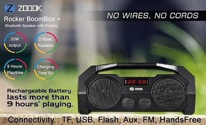 Zoook Rocker Boombox 32W Bluetooth Speakers