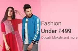 Flipkart Fashion for Men, Women & Kids under Rs.499