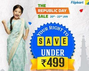 Flipkart Fashion & Home Essentials – Rs.499 Stores