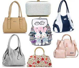Ladies Handbags & Clutches under Rs.599 @ Amazon